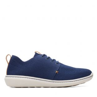 Clarks Mens Step Urban Mix Navy Shoes